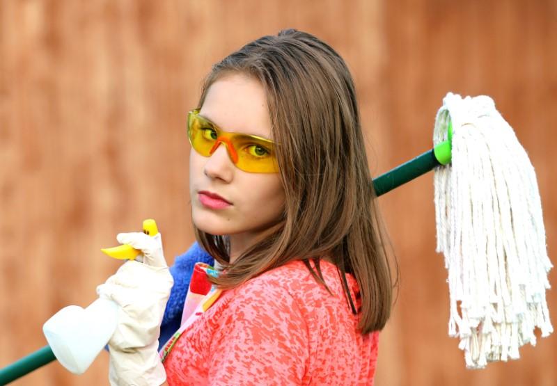 Čiščenje na domu ali čistilka na domu